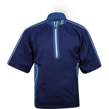 FootJoy Tour Logo Sport Short Sleeve Windshirt Outerwear Apparel