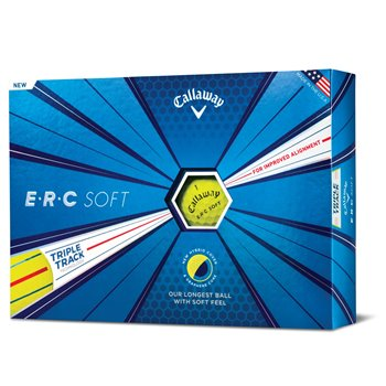 Callaway ERC Soft Yellow Golf Ball Balls