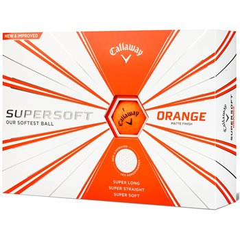 Callaway SuperSoft Orange 19 Golf Ball Balls