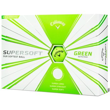 Callaway SuperSoft Green 19 Golf Ball Balls