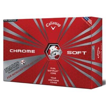 Callaway Chrome Soft Truvis Suits 18 Golf Ball Balls