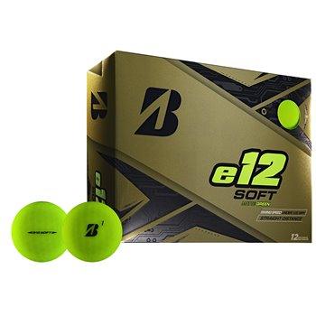 Bridgestone e12 Soft Green Golf Ball Balls