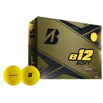 Bridgestone e12 Soft Yellow Golf Ball Balls