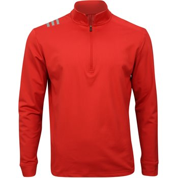 Adidas 3-Stripes Core 1/4 Zip Outerwear Apparel