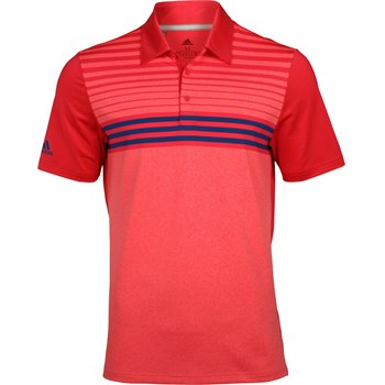 Adidas Ultimate365 3 Stripe Heather Shirt Apparel