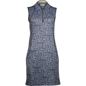 Greg Norman Divinity Sleeveless Zip Tulip Collar Dress Apparel