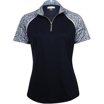 Greg Norman Majesty Zip Mock Shirt Apparel