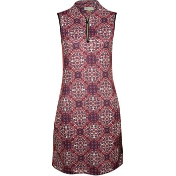 Greg Norman Valence Zip Tulip Collar Sleeveless Dress Apparel