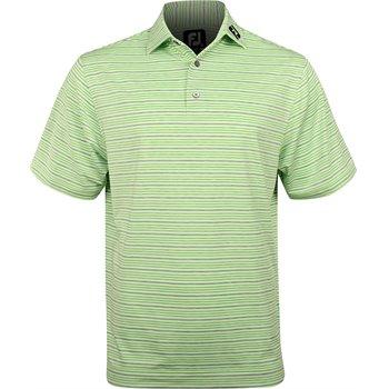 FootJoy Tour Logo ProDry Performance Lisle Space Dye Stripe Shirt Apparel