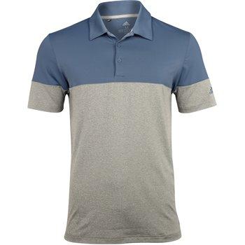 Adidas Ultimate365 Heathered Blocked Shirt Apparel