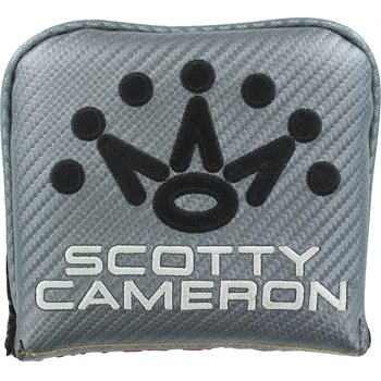 Titleist Scotty Cameron Milled Design Mallet Square LH Putter Headcover Preowned Accessories