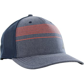 Adidas Golf Stripe Trucker Golf Hat Apparel