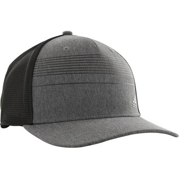 Adidas Golf Stripe Trucker Headwear Apparel