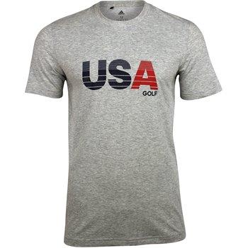 Adidas USA Gradient Bold Print Practice Shirt Apparel