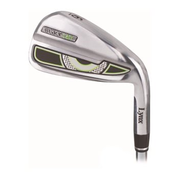 Lynx Black Cat Chrome Iron Set Preowned Clubs