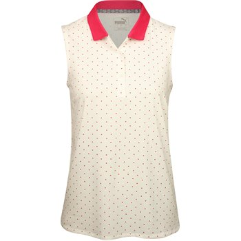 Puma Sleeveless Polka Dot Shirt Apparel