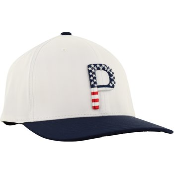 Puma Limited Edition Stars & Stripes P 110 Snapback Golf Hat Apparel
