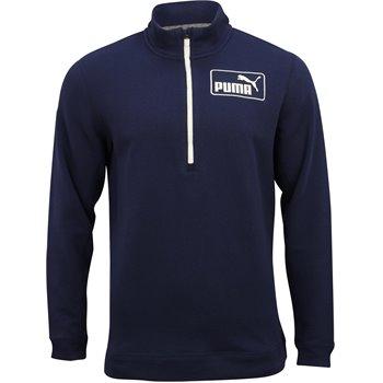 Puma Logo ¼ Zip Outerwear Apparel
