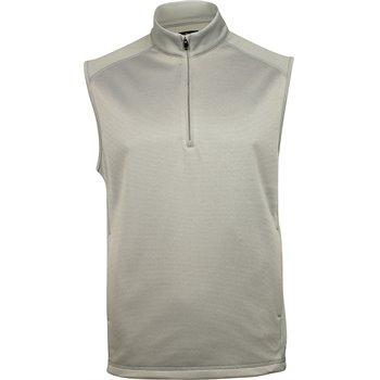 Greg Norman ¼ Zip Stripe Fleece Outerwear Apparel