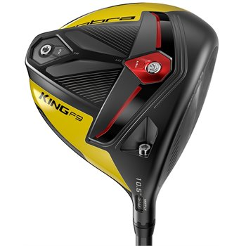 Cobra King F9 SpeedBack Black Yellow Driver Preowned Clubs