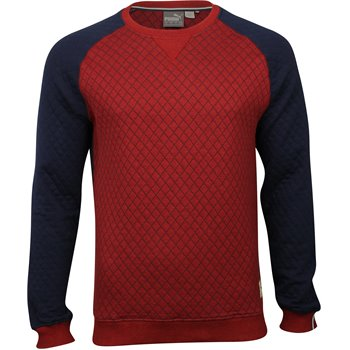 Puma Quilted Sweater Apparel