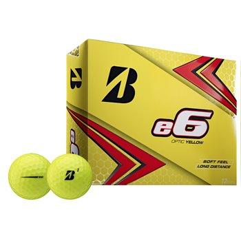 Bridgestone e6 2020 Yellow Golf Ball Balls