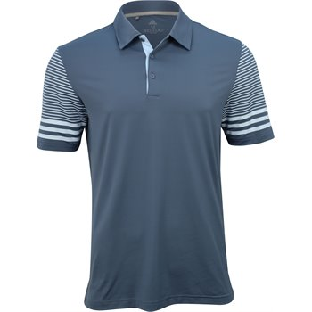 Adidas Ultimate Sleeve Gradient Polo Shirt Apparel