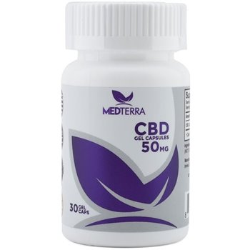 Medterra Gel Capsules 50 MG CBD Accessories