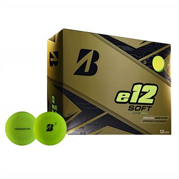 Bridgestone e12 Soft BONUS PACK GREEN Golf Ball Balls