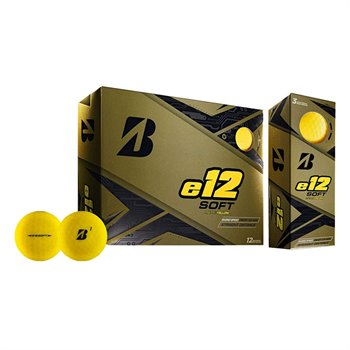 Bridgestone e12 Soft BONUS PACK YELLOW Golf Ball Balls