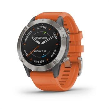 Garmin Fenix 6 Sapphire Titanium Multisport GPS Watch GPS/Range Finders Accessories