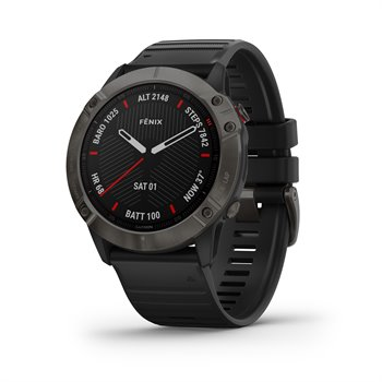 Garmin Fenix 6X Sapphire Multisport GPS Watch GPS/Range Finders Accessories