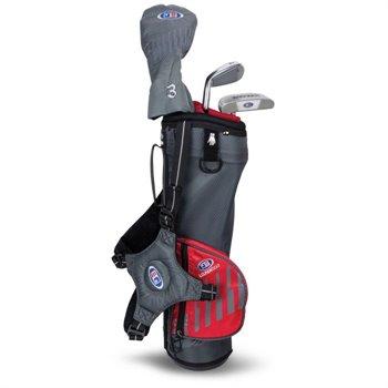U.S. Kids Golf UL39 3-Club Carry Standard Club Set Clubs