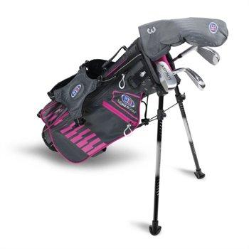 U.S. Kids Golf UL45 4 Club Pink Club Set Clubs